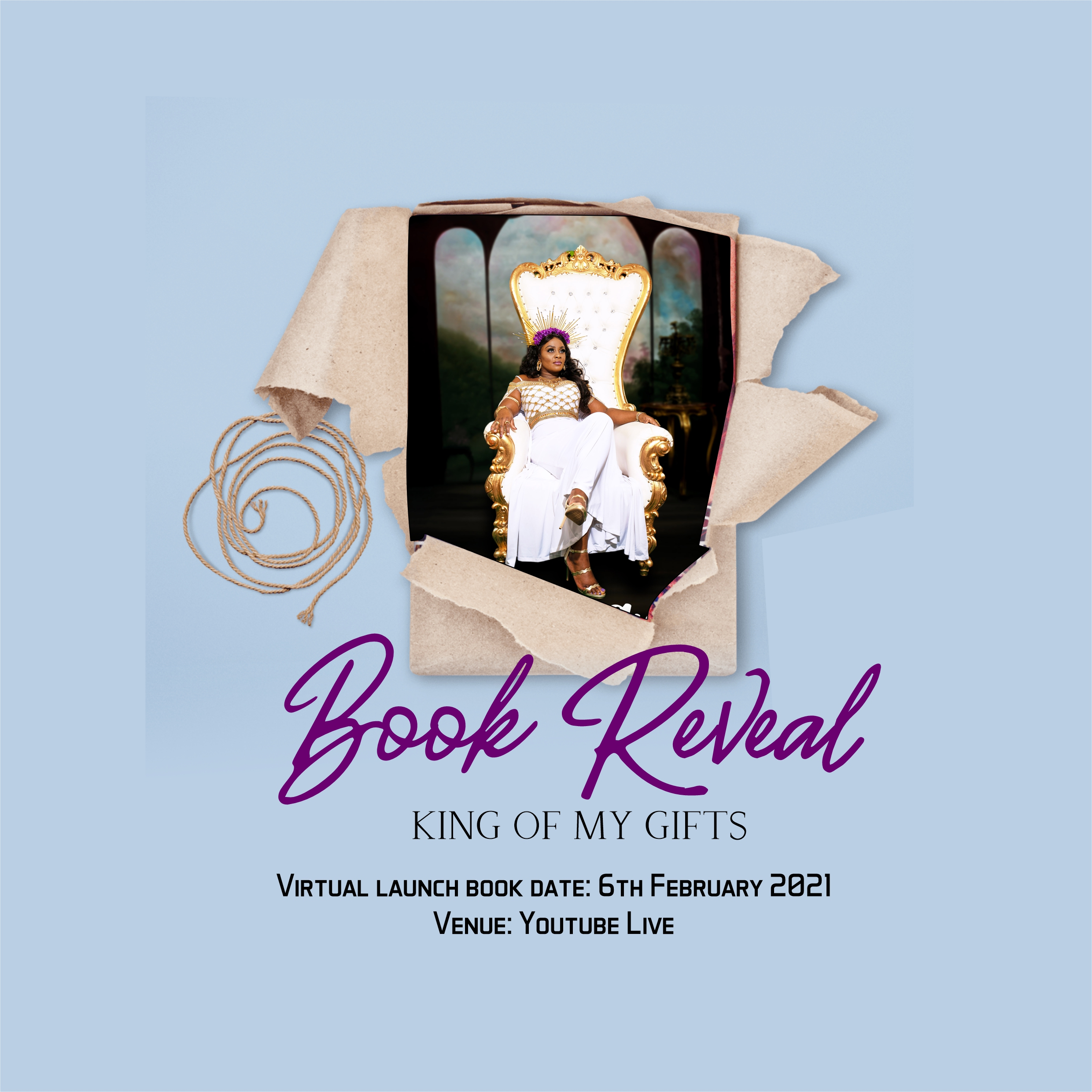 King of My Gifts Virtual Book Launch